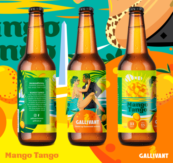Gavillant_Mango Tango vierkant fles